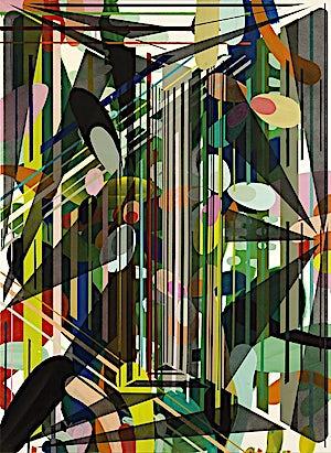 Henrik Placht, Terrestrial paradise II, 2009, 150 x 110 cm