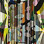 Henrik Placht: Terrestrial paradise I, 2009, 150 x 110 cm