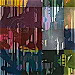 Henrik Placht: Tech noir I, 2009, 150 x 110 cm
