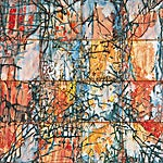 Inge Jensen: XVI, 2000, 121 x 121 cm