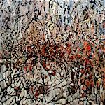 Inge Jensen: Uten tittel, 2000, 100 x 100 cm