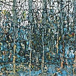 Inge Jensen: Uten tittel, 2000, 42 x 58 cm