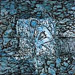 Inge Jensen: Uten tittel, 2000, 161 x 161 cm