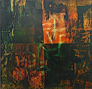 Inge Jensen, Membran - mine, 2003, 97 x 100 cm