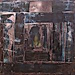 Inge Jensen: Portal, 2001, 70 x 70 cm
