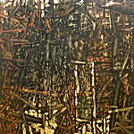 Inge Jensen: Portal - mine, 2003, 155 x 150 cm