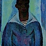 Johs. Rian: Matros, 1950, 70 x 62 cm