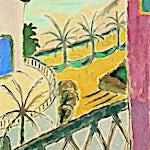 Johs. Rian: Nice, 1950, 57 x 47 cm