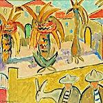 Johs. Rian: Taormina, 1951, 38 x 46 cm