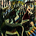 Johs. Rian: Antajos, 1934, 131 x 121 cm