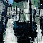 Kenneth Blom: Rain, 2011, 140 x 160 cm