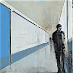 Kenneth Blom: Arrive II, 2011, 120 x 100 cm