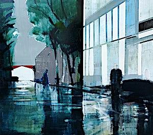 Kenneth Blom, Disturbance II, 2011, 170 x 190 cm