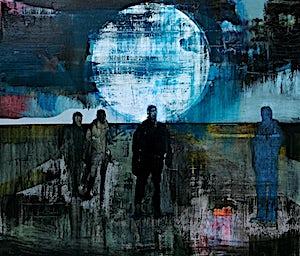Kenneth Blom, The moon, 2011, 130 x 150 cm