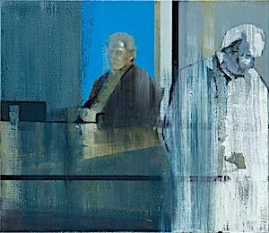 Kenneth Blom, Tiltalt I, 2012, 70 x 80 cm