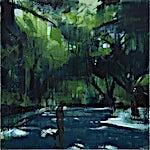 Kenneth Blom: Park I, 2012, 120 x 120 cm