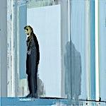Kenneth Blom: Døren, 2012, 100 x 100 cm