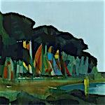 Kenneth Blom: Hyères, 2013, 100 x 120 cm