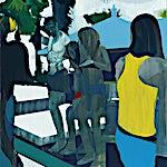 Kenneth Blom: Nikki Beach, 2013, 120 x 100 cm