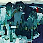 Kenneth Blom: Les Palmiers, 2013, 100 x 120 cm