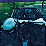 Kenneth Blom: Antibes, 2015, 180 x 120 cm