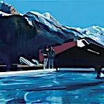 Kenneth Blom: Chamonix, 2015, 100 x 120 cm