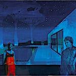 Kenneth Blom: Stjernenatt, 2015, 170 x 190 cm
