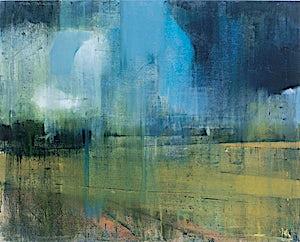 Kenneth Blom, montagne de Reims, 2001, 120 x 150 cm