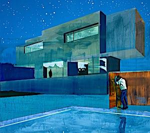 Kenneth Blom: Illumination, 2020, 170 x 190 cm