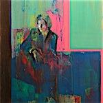 Kenneth Blom: Portrett, 2004, 130 x 110 cm