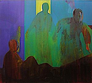 Kenneth Blom, Forsoning, 2003, 170 x 190 cm