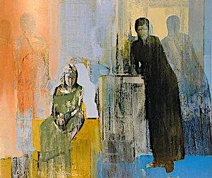 Kenneth Blom, De som ble tilbake, 2000, 200 x 215 cm