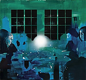 Kenneth Blom, Dinner 3, 2006, 160 x 180 cm