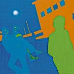 Kenneth Blom: Silence 4, 2006, 160 x 180 cm