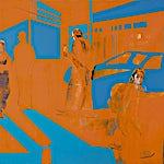 Kenneth Blom: Murder, 2006, 160 x 180 cm