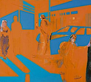 Kenneth Blom, Murder, 2006, 160 x 180 cm