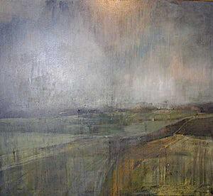 Kenneth Blom, Landskap, 2000, 170 x 190 cm