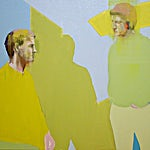 Kenneth Blom: Motstand, 2006, 100 x 120 cm
