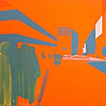 Kenneth Blom: Natt III, 2006, 100 x 150 cm
