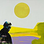 Kenneth Blom: Sort skygge II, 2007, 160 x 180 cm