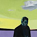 Kenneth Blom: Sort skygge I, 2008, 160 x 180 cm