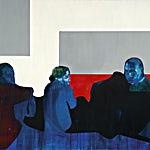 Kenneth Blom: Bjørn, 2007, 160 x 180 cm