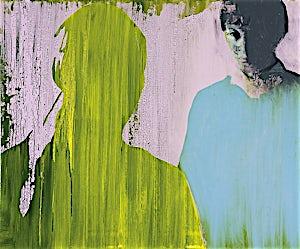 Kenneth Blom, Et møte II, 2007, 100 x 120 cm