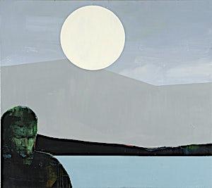 Kenneth Blom, Regn, 2008, 160 x 180 cm
