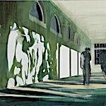 Kenneth Blom: Treet, 2009, 140 x 160 cm