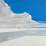 Kenneth Blom: Snø I, 2009, 140 x 160 cm