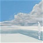 Kenneth Blom: Snø II, 2009, 140 x 160 cm