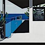 Kenneth Blom: Hav, 2009, 100 x 120 cm