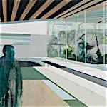 Kenneth Blom: Skog, 2009, 140 x 160 cm