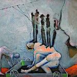 Knut Rose: Uten tittel, 2000, 89 x 116 cm